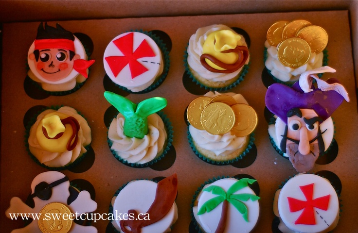 jake and the neverland pirates cupcakes - photo #6