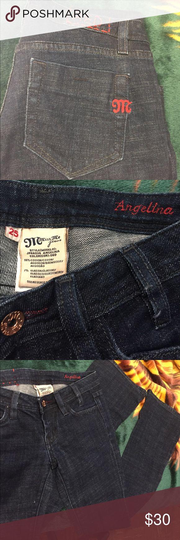 MISS ME JEANS Miss Me jeans. Size 25. Boot cut Miss Me Jeans Boot Cut