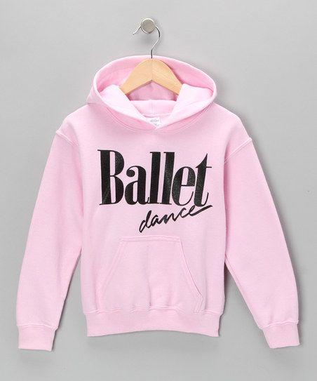 Pink 'Ballet Dance' Hoodie - Girls