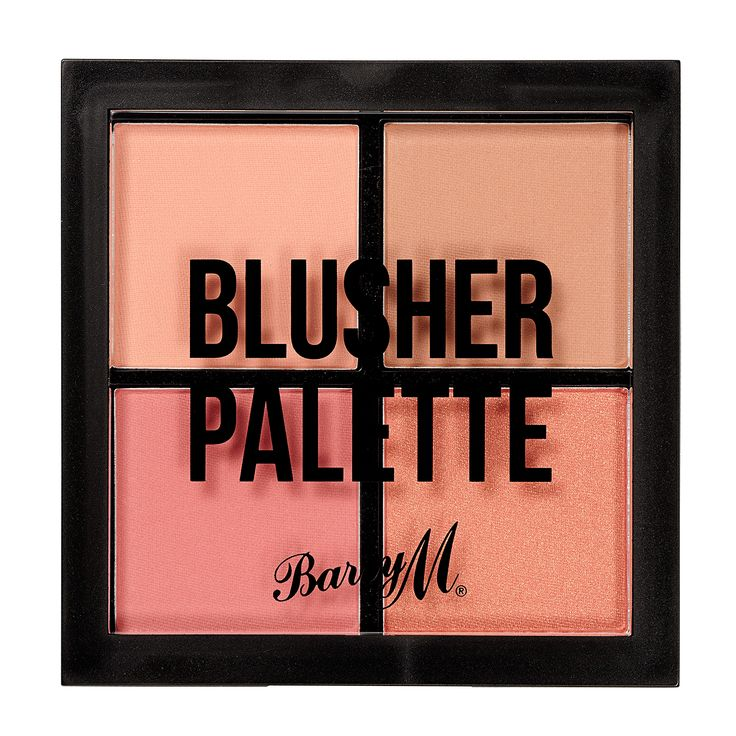 Barry M - Blusher Quad £5.99