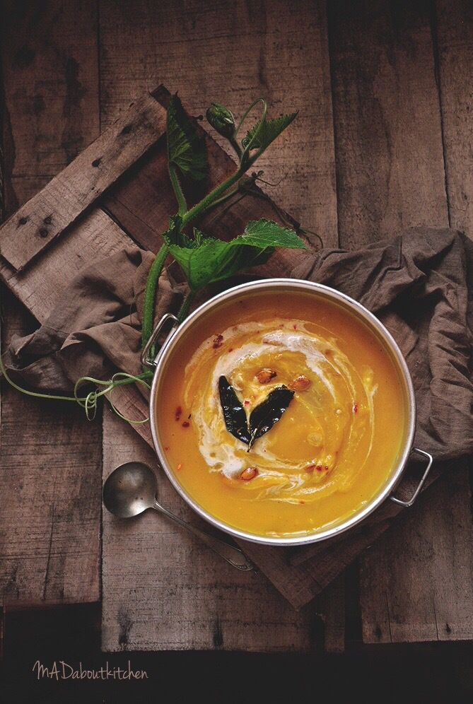 Summer is here and not only do I not feel like cooking, but also we don't feel like having anything heavy. Soups are the best solution for such days. Roasted Pumkin Soup, is a si…