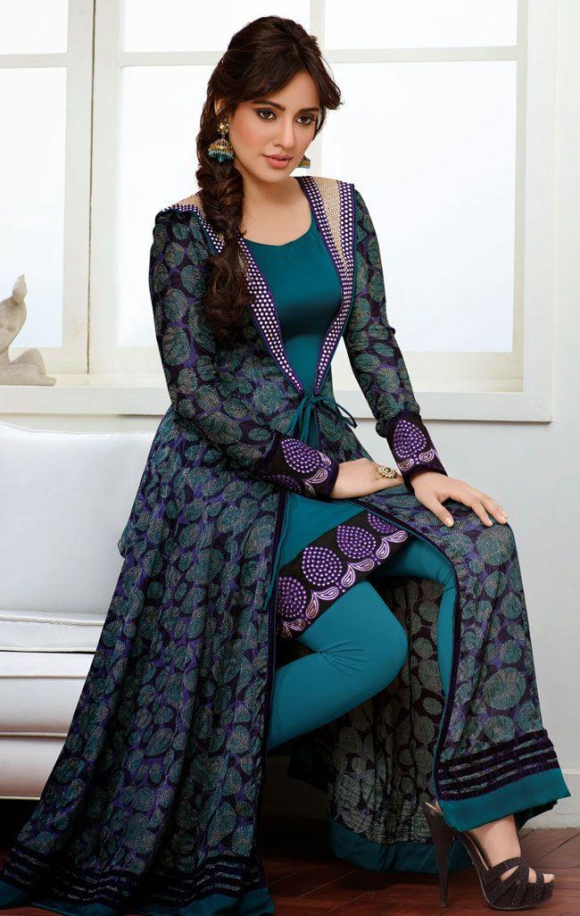 100 best Bollywood Anarkali Salwar Kameez images on Pinterest ...