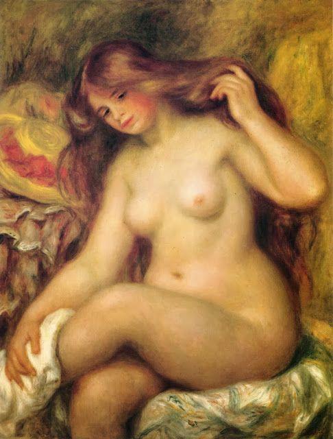 Λουομένη με ξανθά μαλλιά (1904)