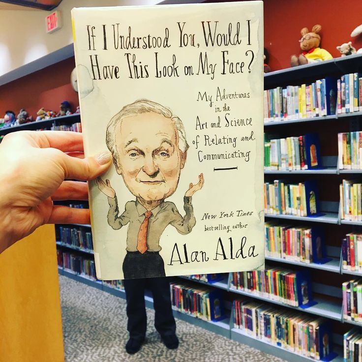 Alan Aldas If I Understood You Would I Have This Look On My Face? is todays #bookfacefriday. . #syosset #library #actor #author #syossetlibrary #bookface #bookcover #alanalda #mash #ifiunderstoodyouwouldihavethislookonmyface #books #reading #nonfiction #newbook #art #science #communicating #nypl #bookfacemagazine #librarian #libraryfun #bookstagrammer #bookstagram #librariesofinstagram #librariesofamerica #alanaldacenterforcommunicatingscience