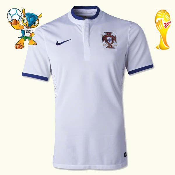 Les nouveaux Maillot Portugal Coupe Du Monde 2014 Extérieur soldes,maillot de football,lly.525.com