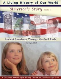 A Living History of Our World (first book in the series), by Angela O'Dell, published by Queen Homeschool Supplies.  Our FAVORITE history curriculum for users of the Charlotte Mason method!
