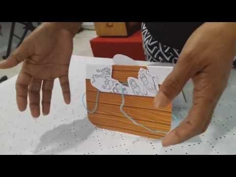 untuk anakanak sekolah minggu: Membuat Kartu Bahtara Yesus