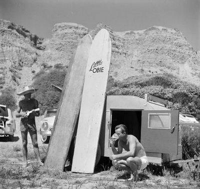 Beach style 1950s