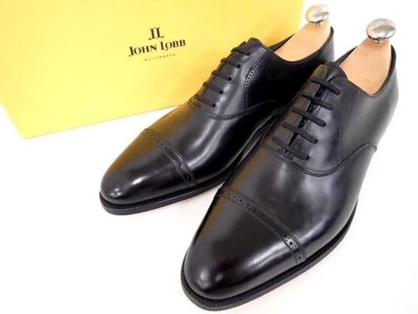 ジョンロブ フィリップ2 パンチドキャップトゥ の買取はラストラボ 紳士靴・ブーツなど革靴の買取専門店 ラストラボ