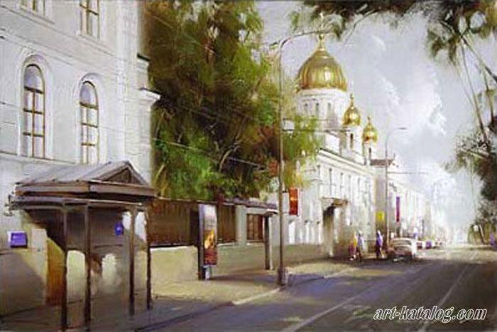 Gogolevsky Boulevard / Gappasov Ramil.