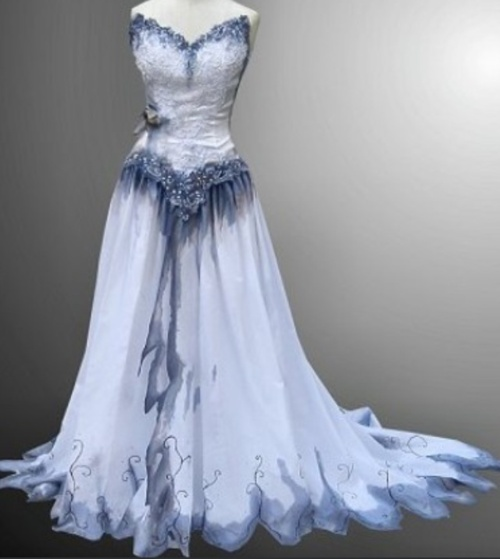 Designer and photographer unknown worn pinterest for Corpse bride wedding dress for sale
