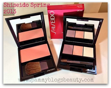Pammy Blogs Beauty: NEW from Shiseido! Spring Collection 2013