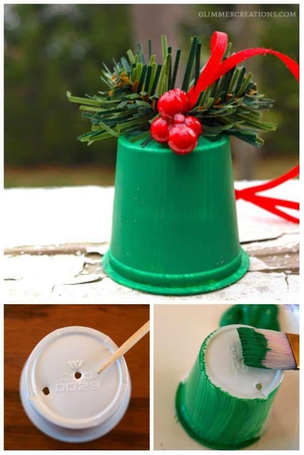 14 d corations de no l g niales fabriquer avec des for Fabriquer des decorations de noel