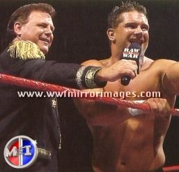 Jerry Lawler & his son Brian Christopher Lawler (Grandmaster Sexay)