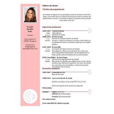 Modelos De Curriculum Vitae - $ 30,00 en Mercado Libre