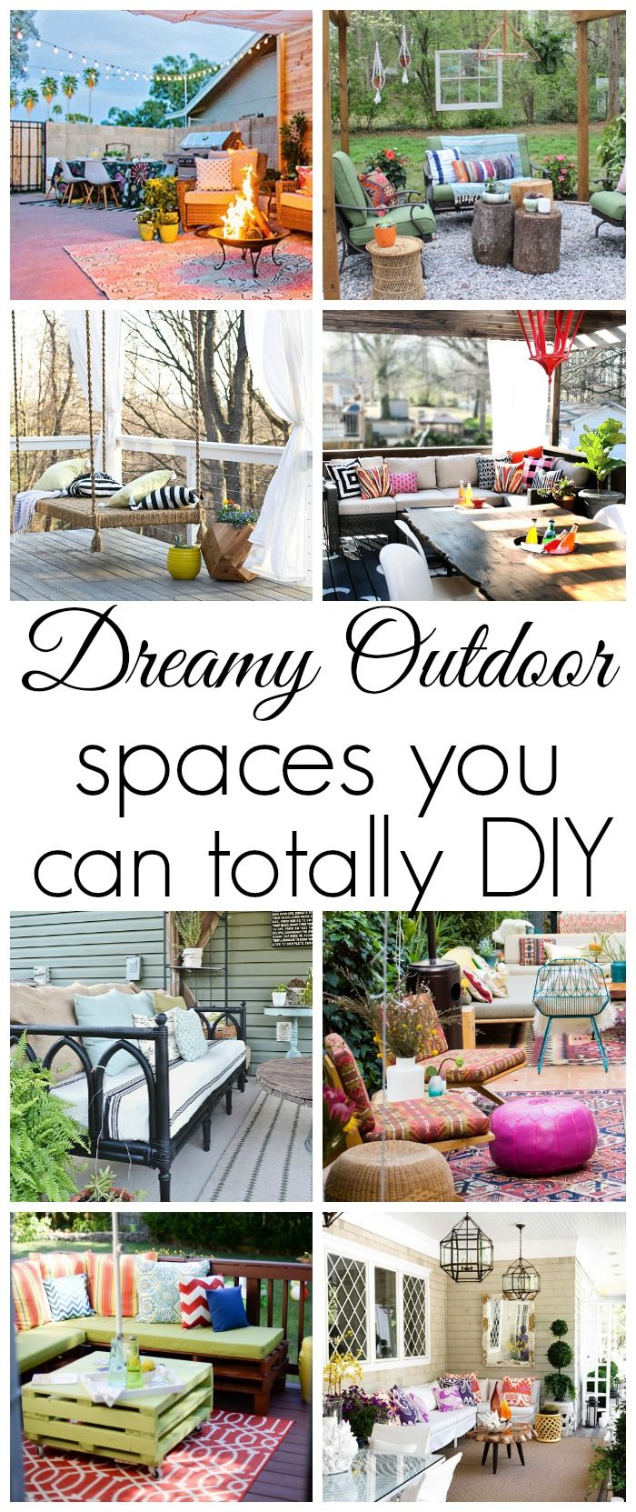776 best Outdoor Decor and DIY images on Pinterest | Back yard ideas ...