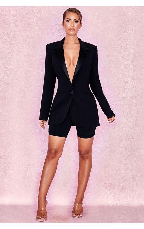 78f7c8d6ccdb Clothing : Shorts : 'Aria' Black Sculpting Cycle Shorts   Fashion in ...