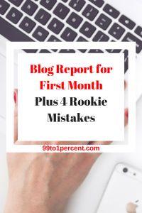 Blog Report for First Month Plus 4 Rookie Mistakes #blog #blogging #DEBTFREE #Debt #job #career #Frugality #MakingMoney #millionaire #MillionDollarChallenge #MillionDollarClub #Mortgage #networth #Personal #Finance#Progress #prosperity #ragstoriches #Saving #spendingmindfully #startedfromthebottom #Studentloans #Successstories #success #rich #riches #money #retirement #early #FIRE #FAMILY #RELATIONSHIPS #FINANCIALINDEPENDENCE #FRUGALITY #MONEYSMARTS #PERSONALFINANCE