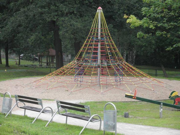 Świeradów Zdrój - Plac zabaw przy polu do mini golfa, ul. Zakopiańska.