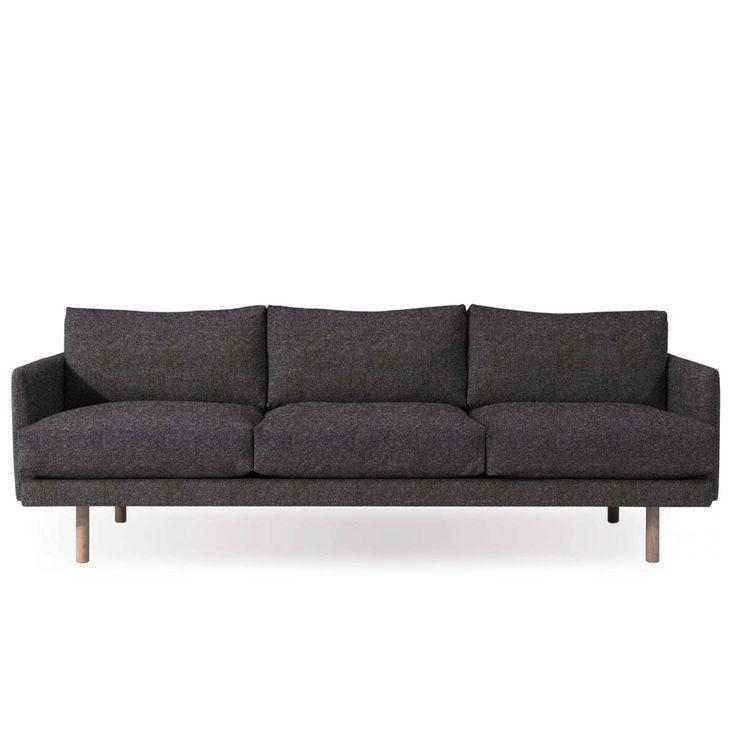 Die besten 25+ Sofa hellgrau Ideen auf Pinterest Couch hellgrau - wohnzimmer grau beige grun