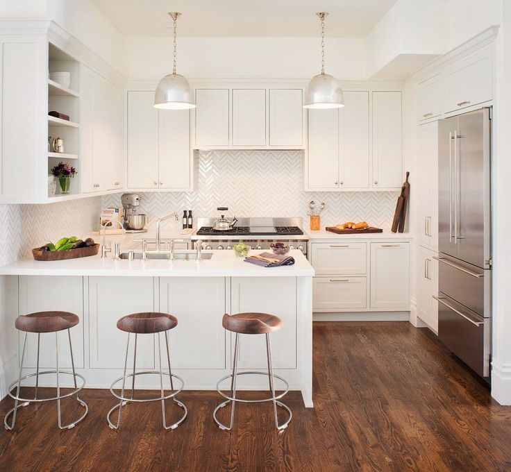 Herringbone tile pattern kitchen transitional with herringbone tile pattern backsplash peninsula sink