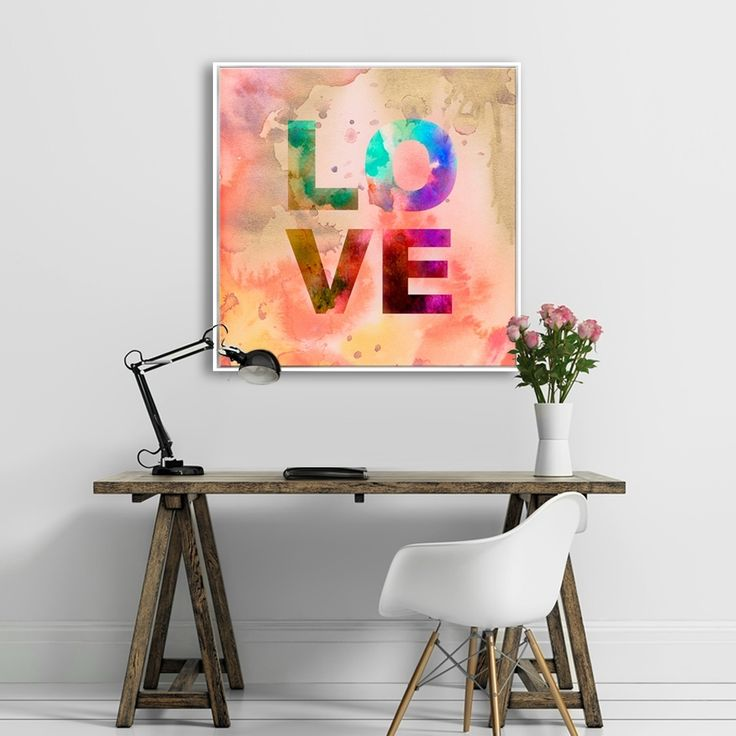 WATERLOVE MAKE ME CRAZY love,typography,wallart,canvas,canvas print,home decor, wall,framed prints,framed canvas,artwork,art