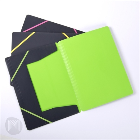 Collected & Co. by Micador Document Wallet Fluoro, Pack 3 $6.00