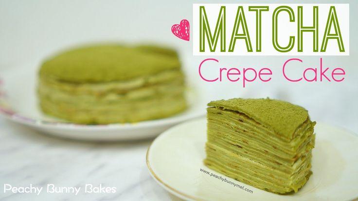 [Lady M] Matcha Mille Crepes Cake⎜抹茶千層蛋糕 (可麗餅蛋糕)