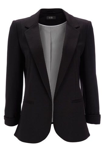 Black Blazer - Jackets & Blazers  - Clothing