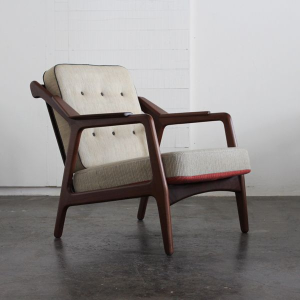 Vintage 1Seat Sofa/B.Petersen/デンマークより買付けてきた1960年代頃の1シートソファを自社ワークショップでメンテナンスした商品。 #家具 #ヴィンテージ #北欧 #テーブル #デザイン #アンティーク #デンマーク #イギリス #ソファ #ペーターソン