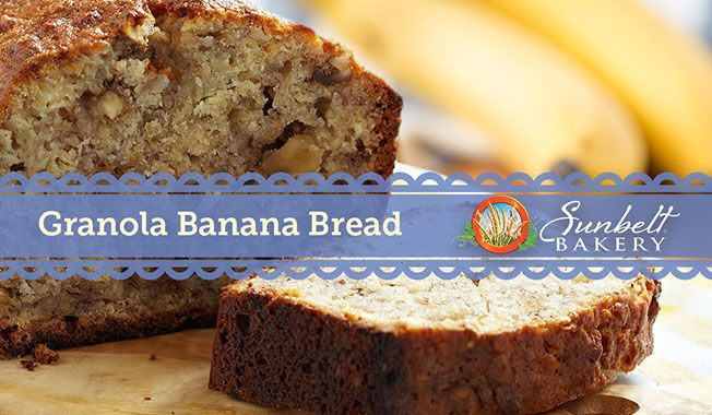Take your banana bread to the next level... with granola! Try this banana bread recipe for a new twist on an all-time favorite.