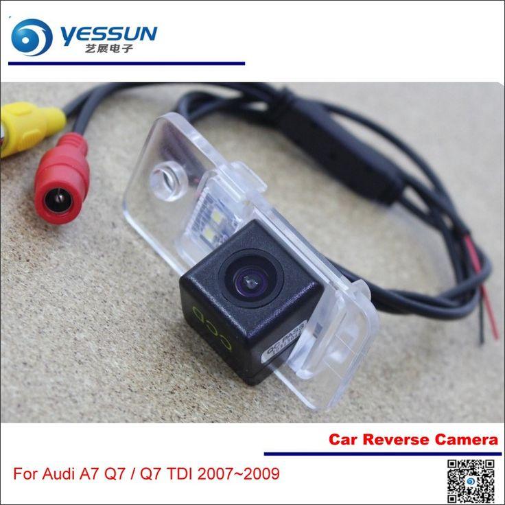 Car Reverse Camera For Audi A7 Q7 / Q7 TDI - Rear View Back Up Parking Reversing Camera - HD CCD Night Vision High Quality