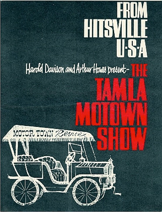 1965 Tamla Motown U.K. Tour — Concert Program Cover