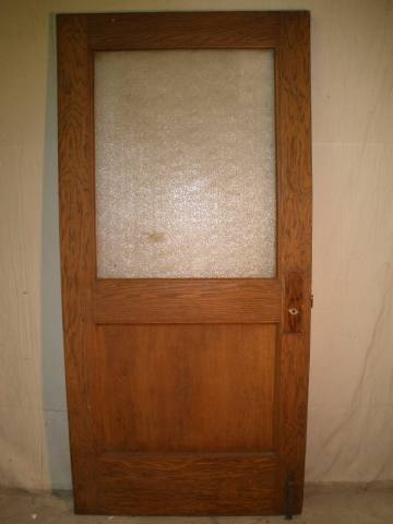 Half Light Door With Frosted Glass Office Pinterest