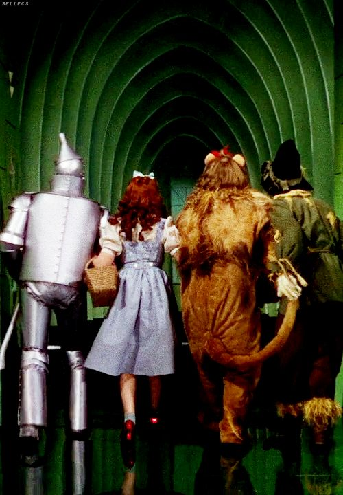 The Wizard of Oz - Jack Haley, Judy Garland, Bert Lahr, Ray Bolger