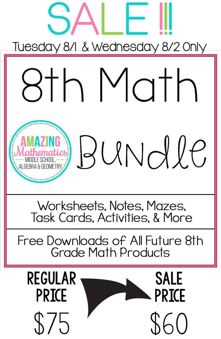 794 best 8th grade math images on pinterest teaching ideas math teacher and teaching math. Black Bedroom Furniture Sets. Home Design Ideas