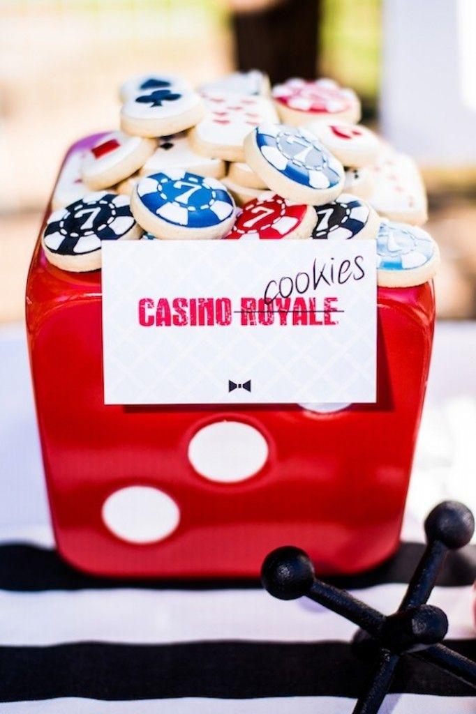 Casino Royale cookies - Bond party