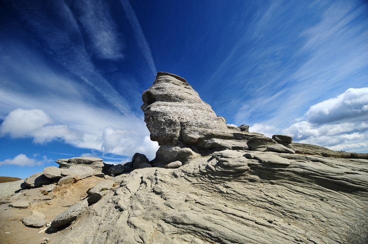 The Sphinx, Bucegi Mountains, Romania.