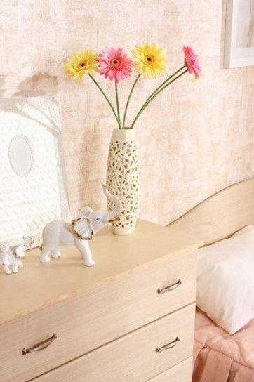Dettaglio camera da letto Feng Shui