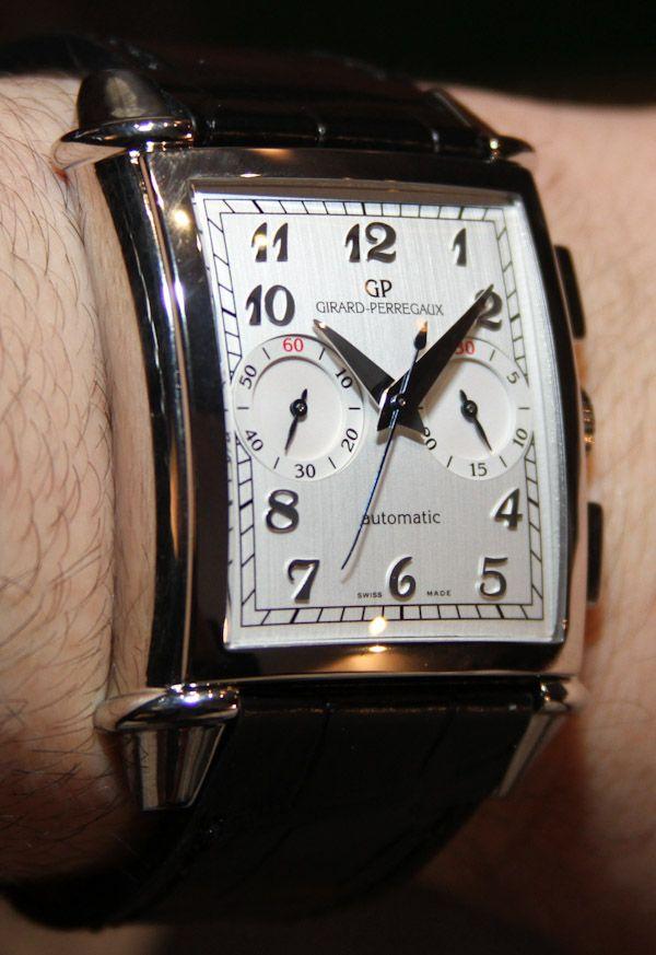 Girard-Perregaux Vintage 1945 XXL Chronograph Watch Hands-On #luxurywatch #GirardPerregaux Girard-Perregaux. Swiss Watchmakers watches #horlogerie @calibrelondon