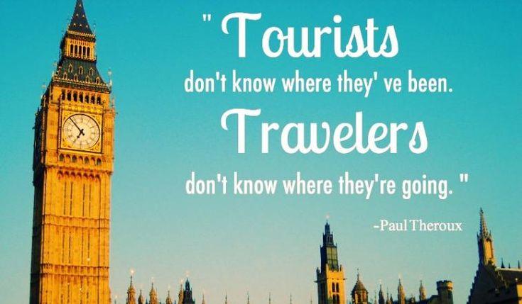 Είσαι Τουρίστας ή Ταξιδιώτης;