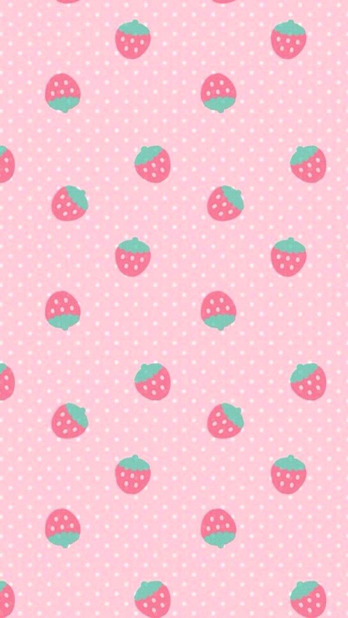 strawberries iphone5 wallpaper rirakkuma pinterest