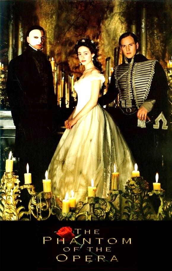 The Phantom Of The Opera! <3 Natalie's daytime pick for day 2! Oh joy!