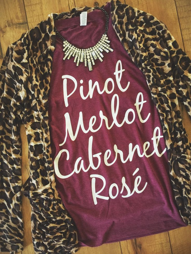 Pinot, Merlot, Cabernet, Rose Tee by Folklore Couture #wine