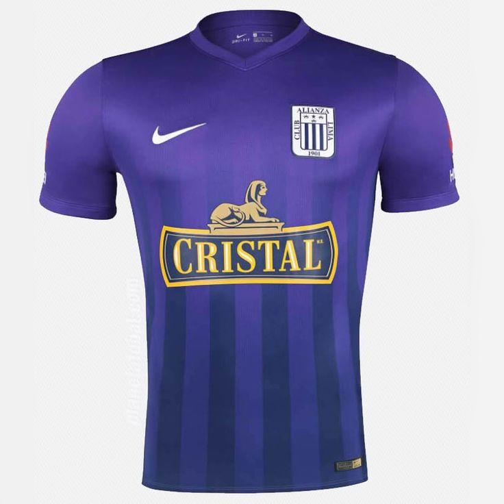 Señor de Los Milagros Camisa roxa do Alianza Lima 2016 Nike