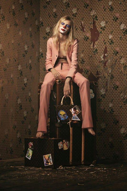 Julia Nobis for Louis Vuitton Monogram Collection 2014