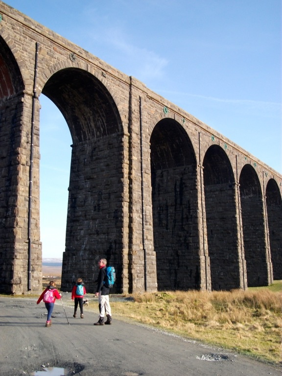 Ribblehead Viaduct, Yorkshire  Padiham Knitter