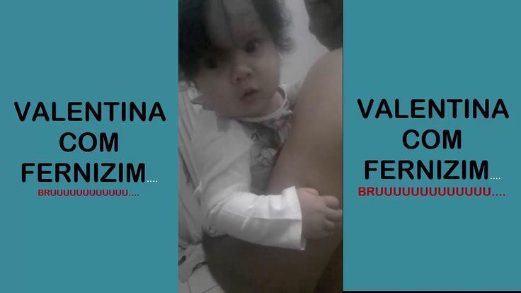 VALENTINA COM FERNIZIM, APRENTENDO UMA TÉCNICA PRA FAZER BARULHO E CONSE...