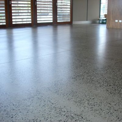 Dulux Luxafloor ECO2 – the high performance eco-friendly, low VOC, low odour waterborne epoxy floor coating from Dulux Protective Coatings  http://www.dulux.com.au/specifier/product/protective-coatings/concrete-flooring