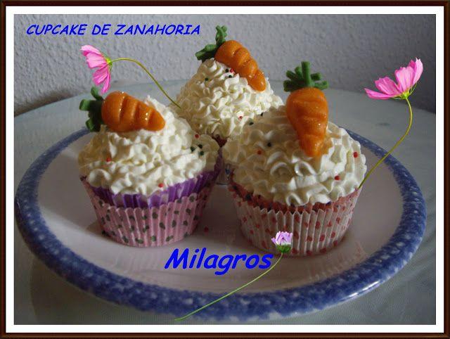 Cupcakelosophy: Cupcakes de Zanahoria, concurso TCC